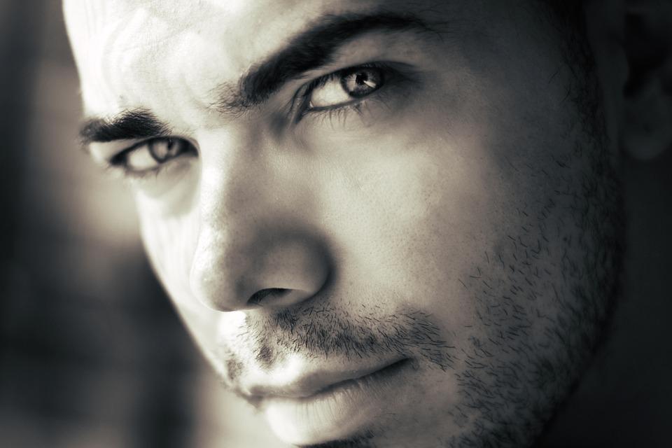 Man, Look, Boy, Eyes, Face, Portrait, Skin