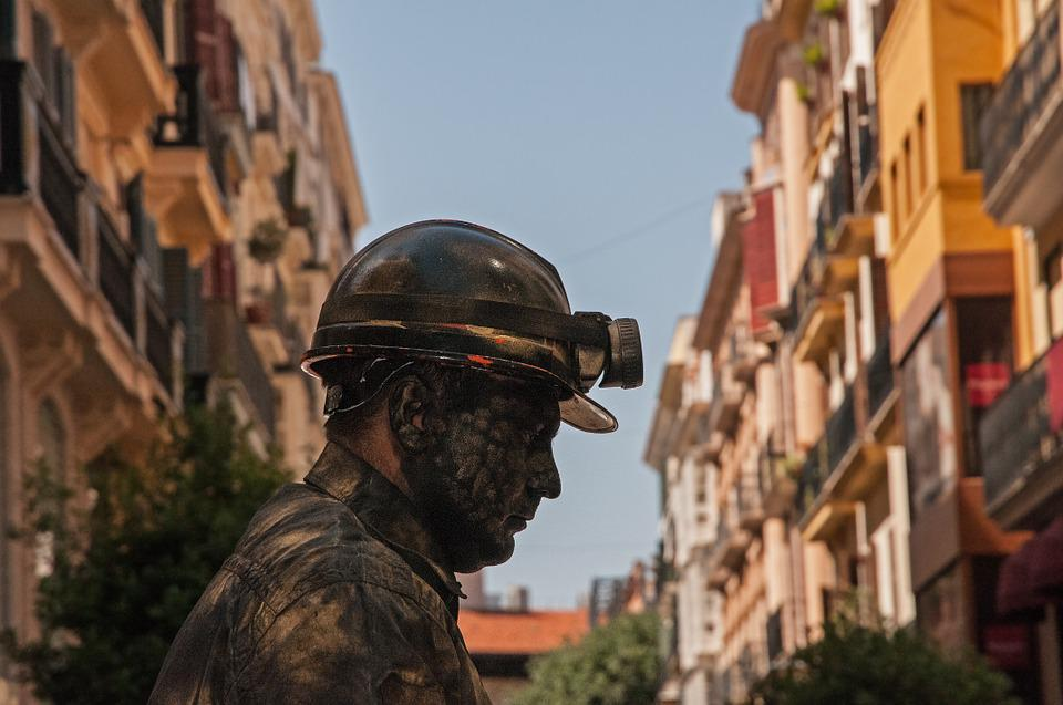 Miners, Mining, Artists, Man, Face, Person, Human, View