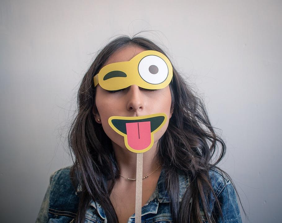 Emoji, Fake, Mask, Portrait, Photography, Face, Funny
