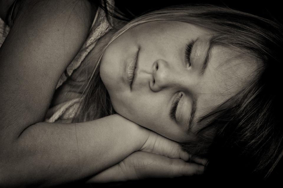 Child, Girl, Face, Sleep, Portrait