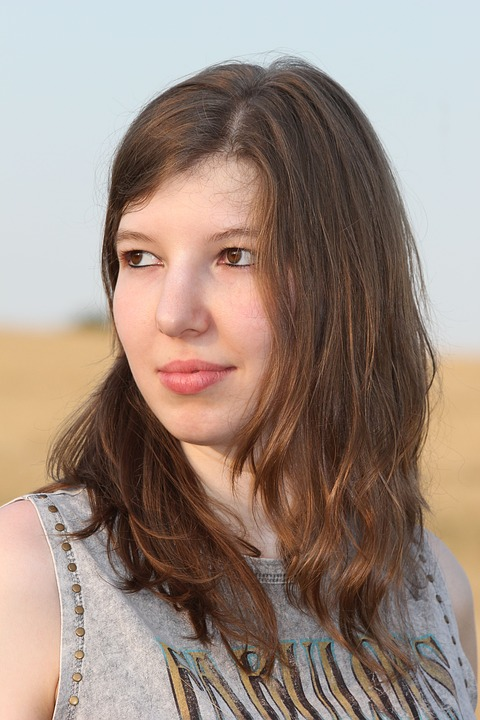 Portrait, Young Woman, Of Course, Summer, Face