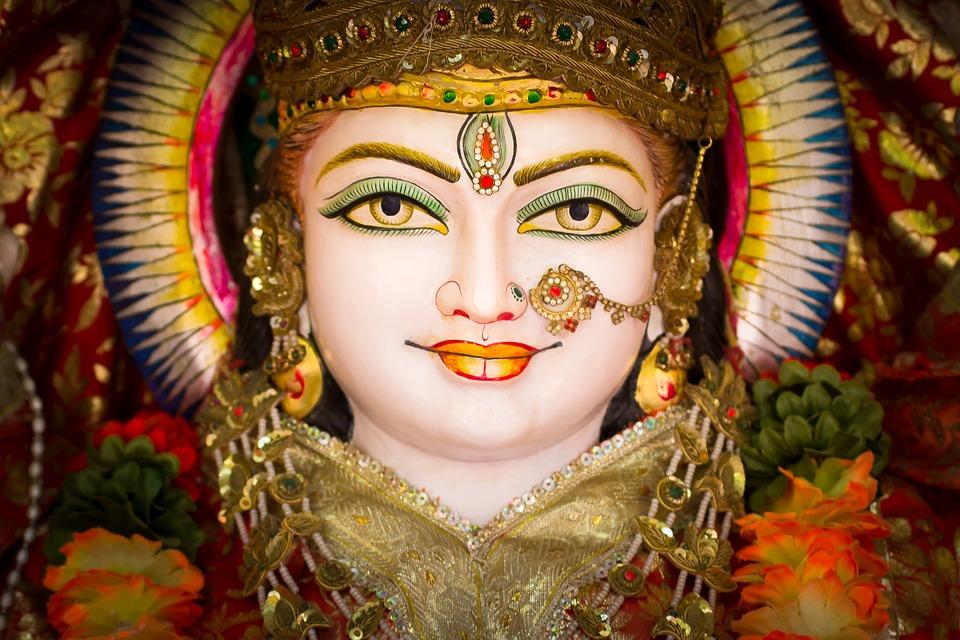 India, Religion, Hinduism, Gods, Face, Spiritual