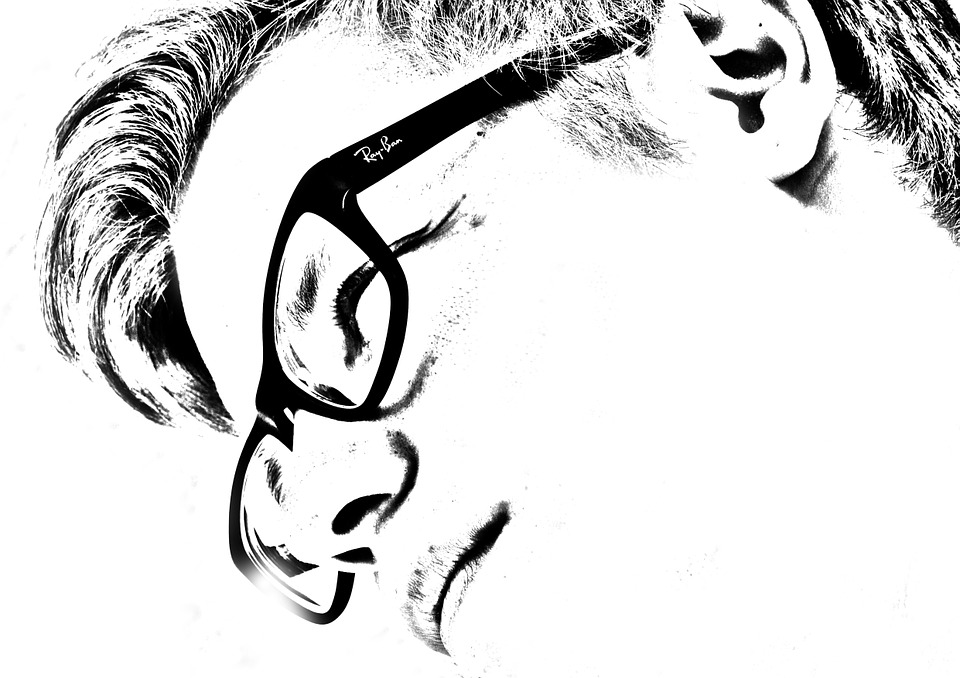 Person, Man, Boy, Face, Section, Glasses, View, Side
