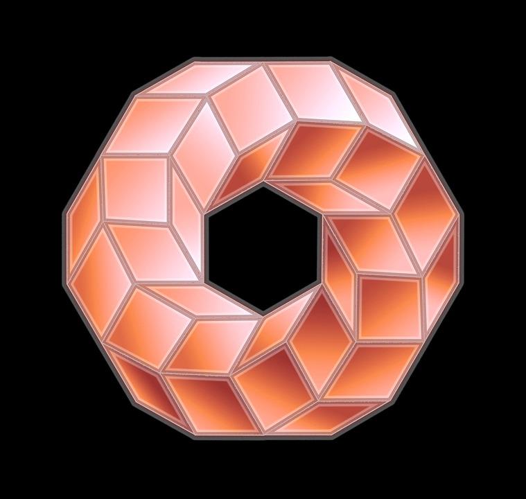 Ring, Möbius, Form, Mature, Torus, Geometry, Facets