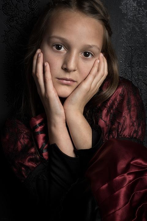 Girl, Regardless Of Whether The, Portrait, Eyes, Facial