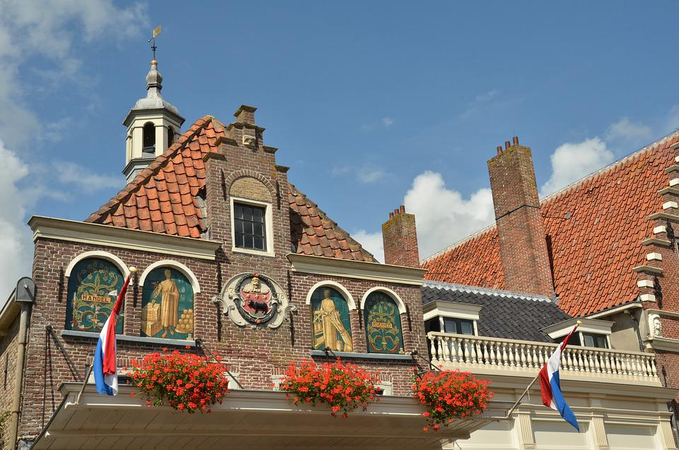 Facade, Waag, Roads, Facing Brick, Decoration