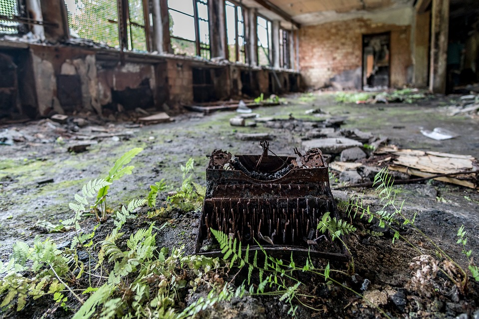 Lost Place, Rust, Factory, Architecture, Lapsed, Ailing