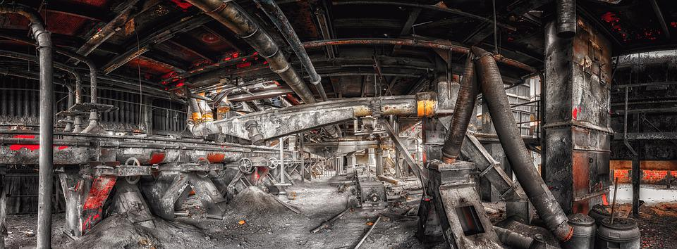 Abandoned Places, Factory, Industry, Hall, Pforphoto