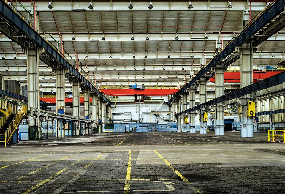Lost Places, Hall, Industry, Leave, Pforphoto, Factory