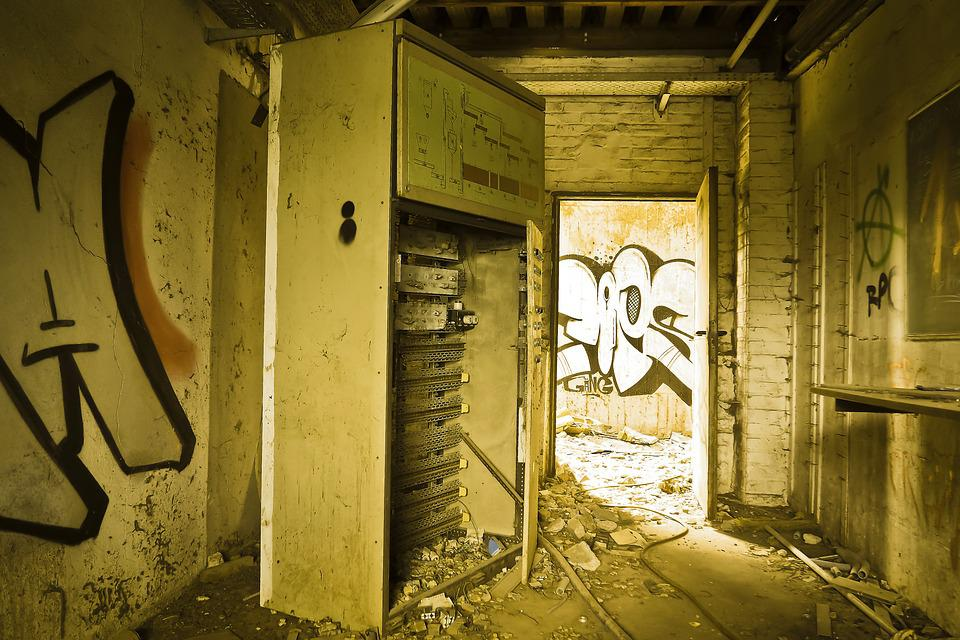 Lost Places, Factory, Old, Lapsed, Building, Ruin