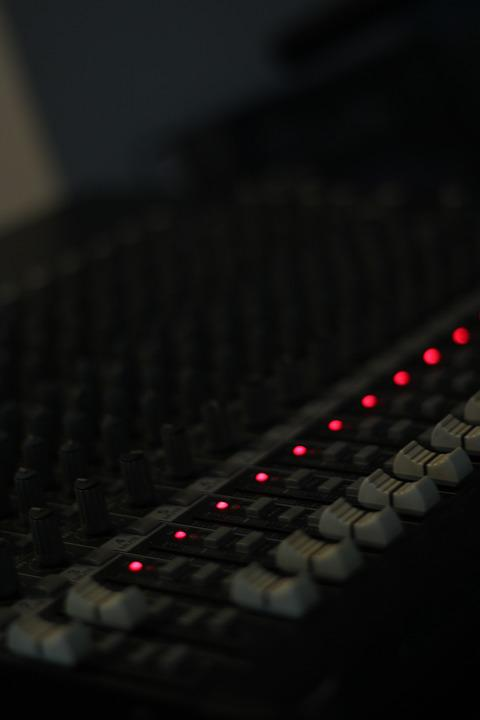 Console, Audio, Mixer, Team, Fader