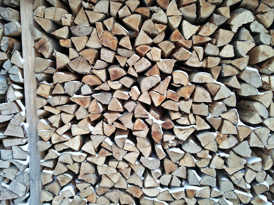 Firewood, Failing, Timber, Log, Wood, Stack, Holzstapel