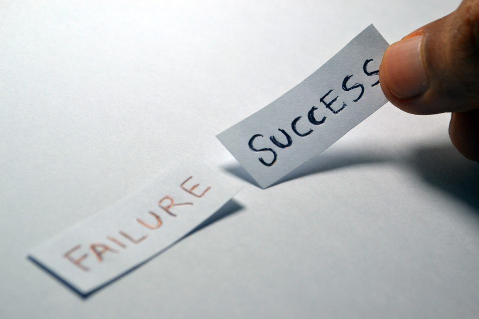 Success, Failure, Opposite, Choice, Choose, Decision