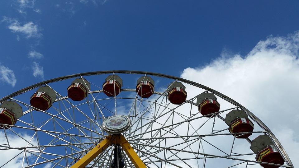 Amusement Ride, Fair, Summer, Amusement, Childhood