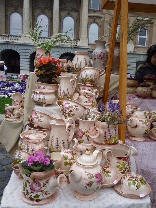 Ceramic, Easter, Unloading, Fair