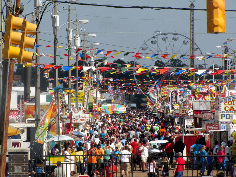 Fairground, Fair, State, Carnival, Amusement Park