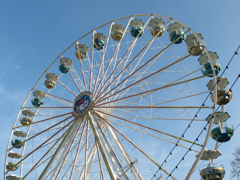 Fair, Christmas Market, Wheel, Ferris Wheel