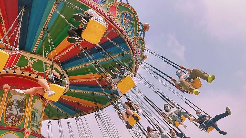 Amusement Park, Swing Ride, Ride, Funfair, Fair