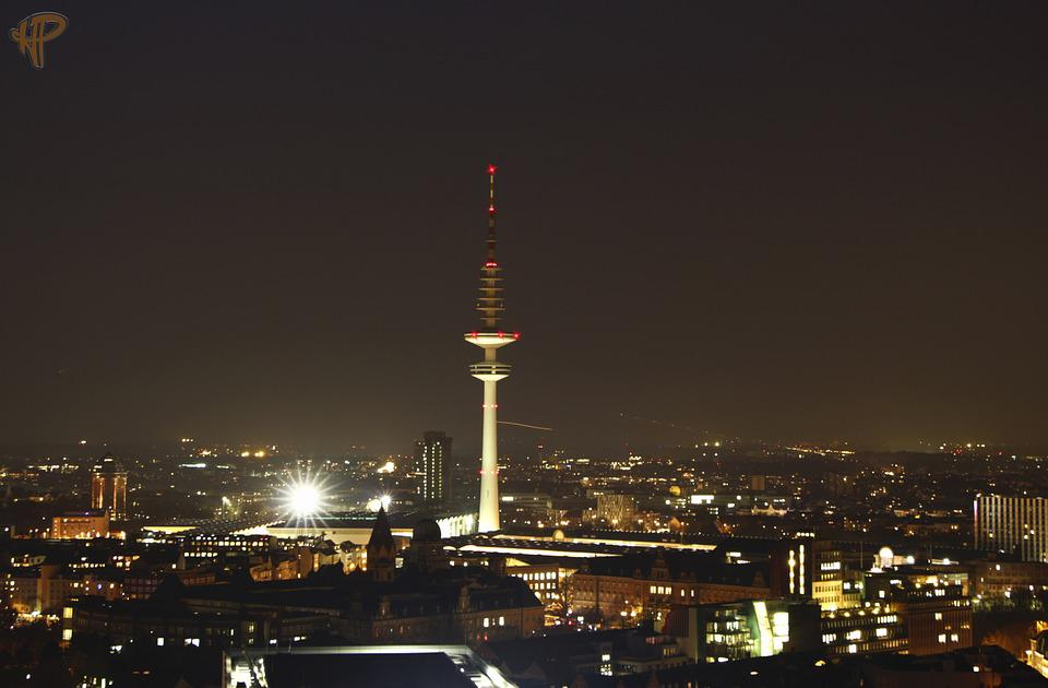 Hamburg, Tv Tower, Fair, Radio Tower, Architecture