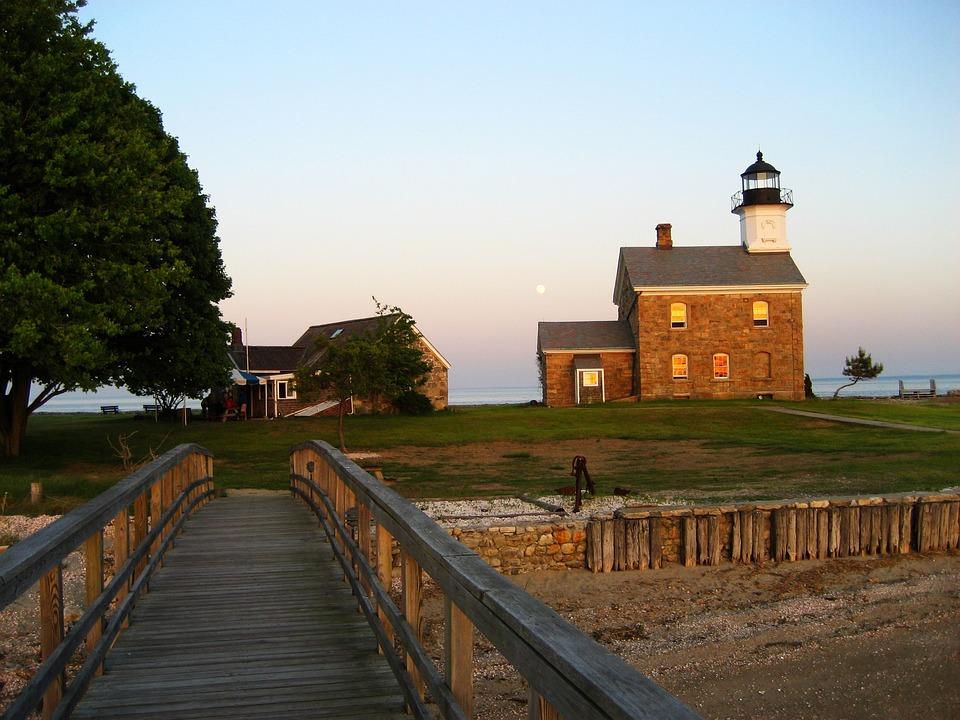 Norwalk, Connecticut, Fairfield, Sky, Landscape, Ocean