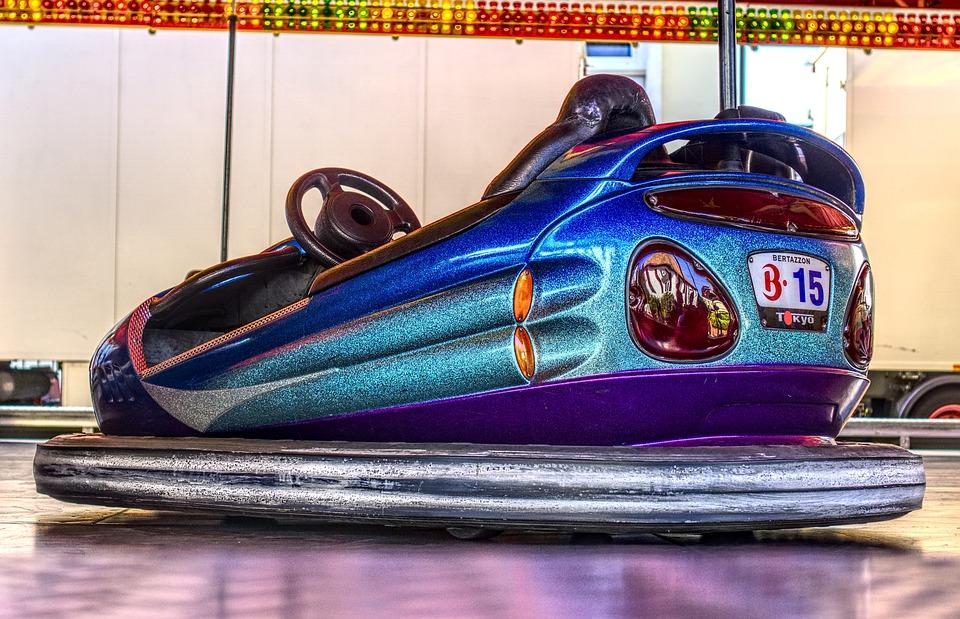 Bumper Cars, Box Car, Fair, Kerwe, Ride, Fairground