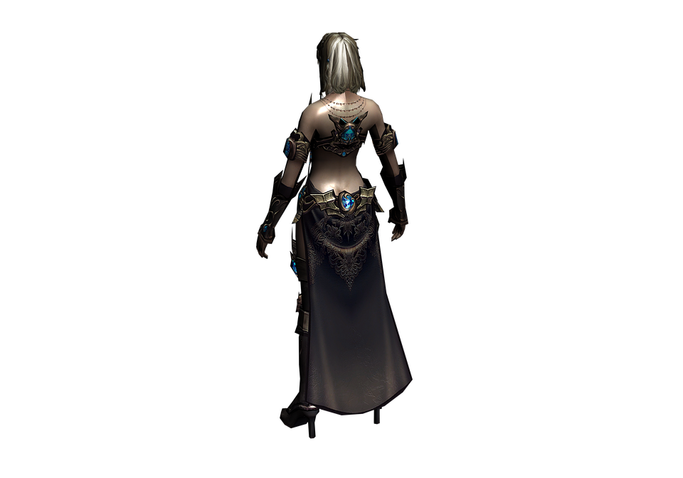 Woman, Armor, Sorceress, Costume, Elf, Fairy, 3d Model