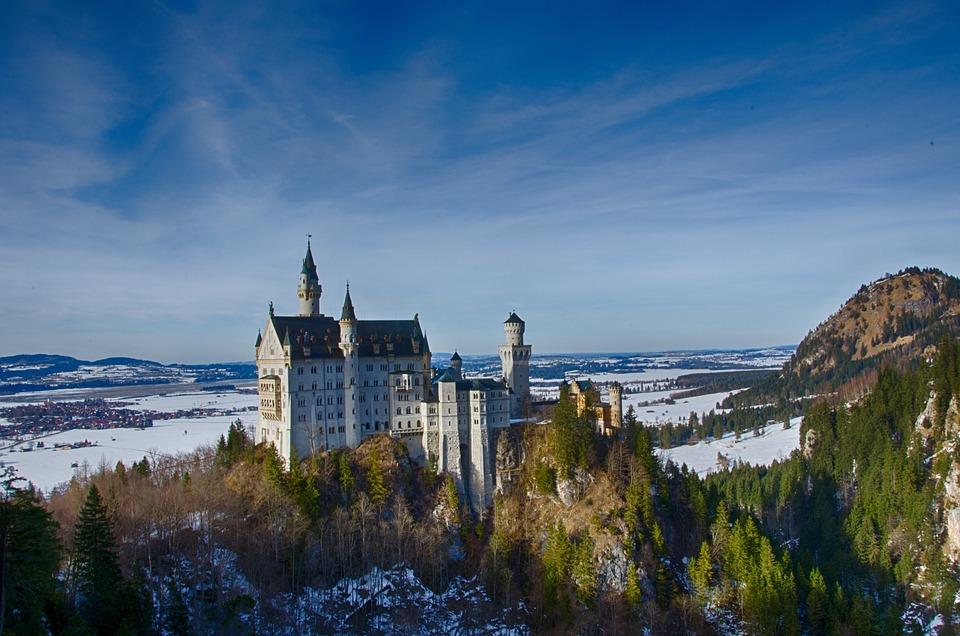 Germany, Bavaria, Castle, Kristin, Fairy Castle
