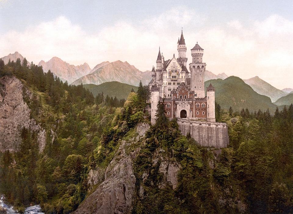 Castle, Kristin, Fairy Castle, Turret, Füssen