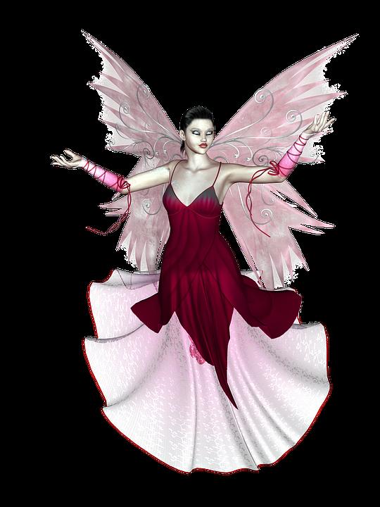 Fairy, Wings, Fantasy, Tale, 3d, Flying, Fairytale