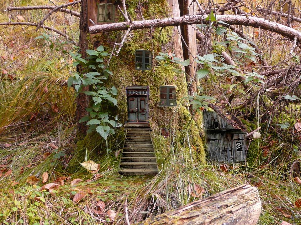 Elves, Fairies, Feenwohnung, Forest, Fairy Tales