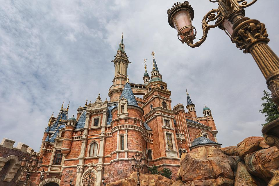 Disney, Castle, Fantasy, Bavaria, Tower, Fairy, Palace