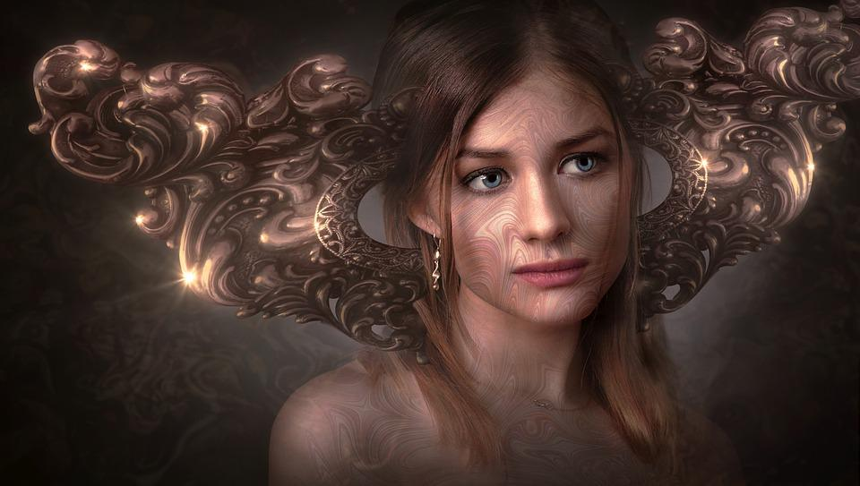 Fantasy, Portrait, Face, Girl, Fairytale, Person