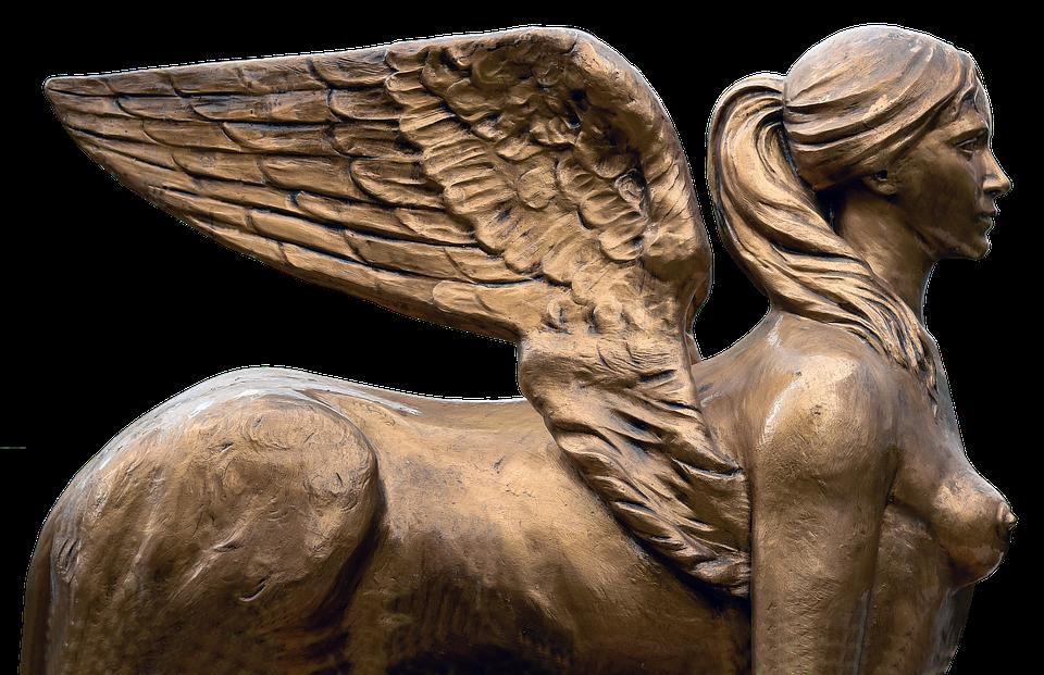 Angel, Wing, Sculpture, Statue, Fairytale, Mystical