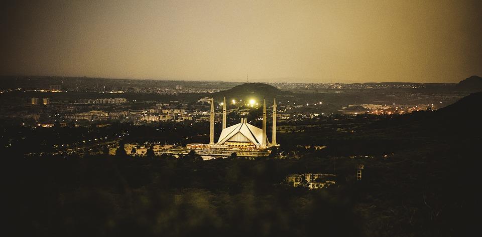 Faisal Mosque, Islamabad, Pakistan, Masjid, Building