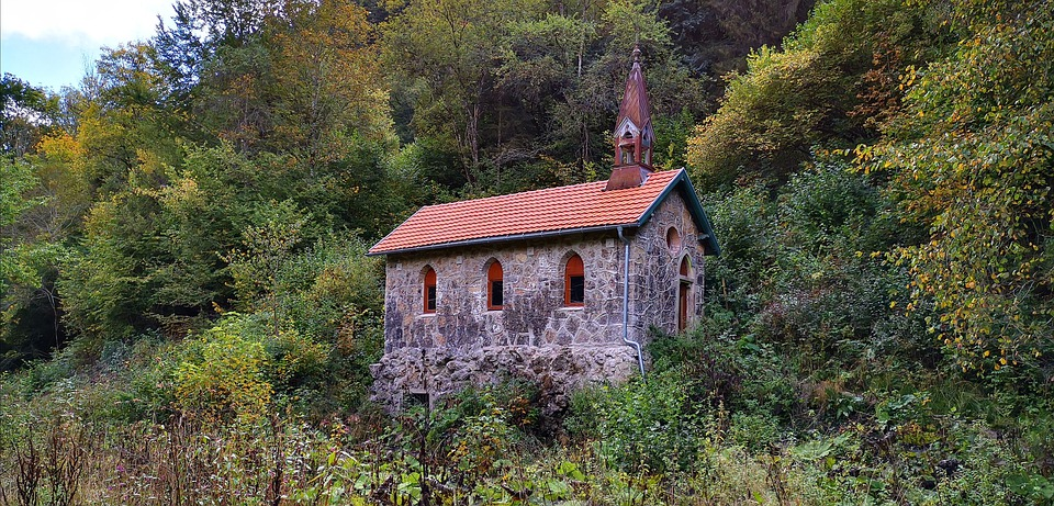 Chapel, Faith, Forest, Wutach Gorge, Black Forest