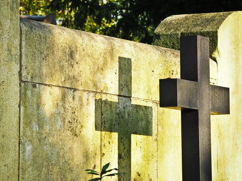 Cemetery, Cross, Tombstone, Grave, Faith, Christianity
