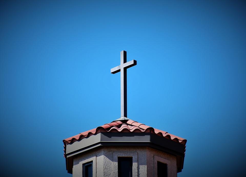 Cross, Church, Jesus, Religion, Faith, Christ