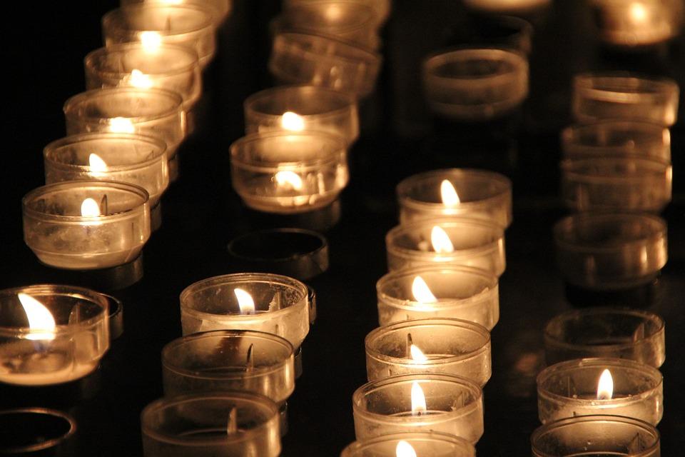 Candles, Light, Church, Lighting, Night, Faith