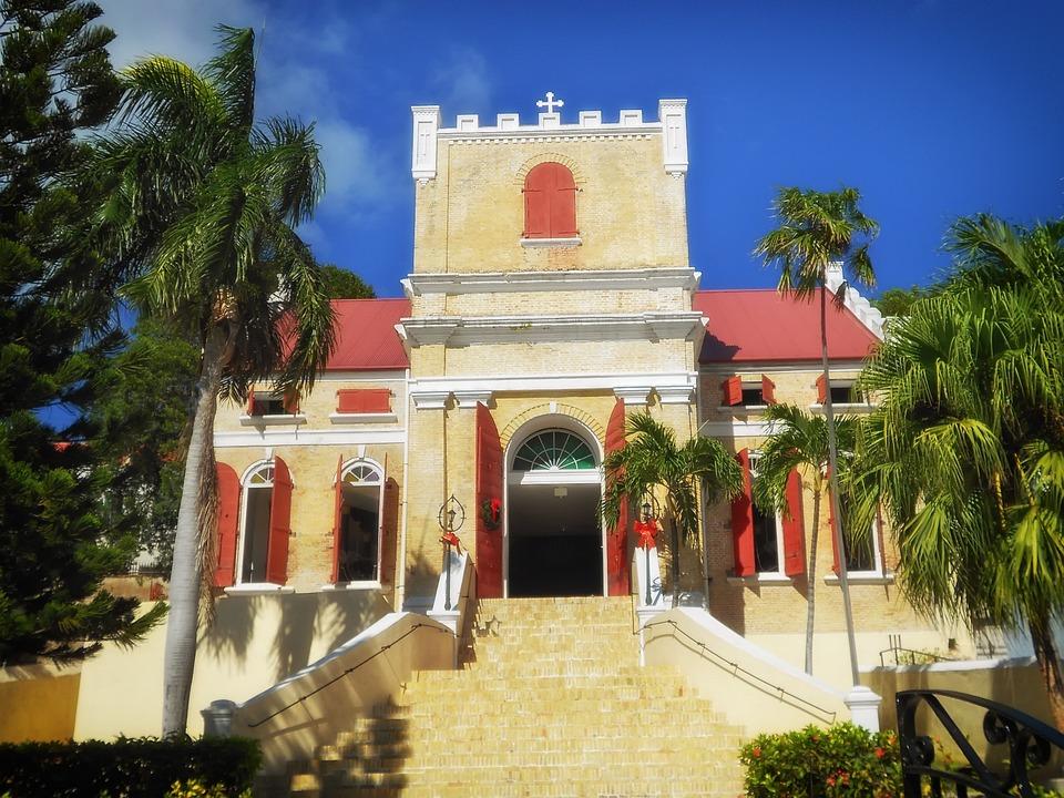 St Thomas, Virgin Islands, Church, Faith, Religion