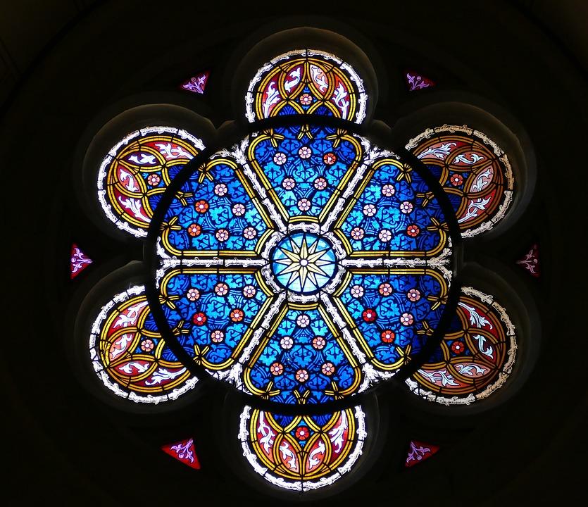 Church Window, Window, Stained Glass Window, Faith