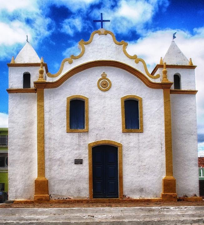 Church, Building, Sky, Clouds, Architecture, Faith