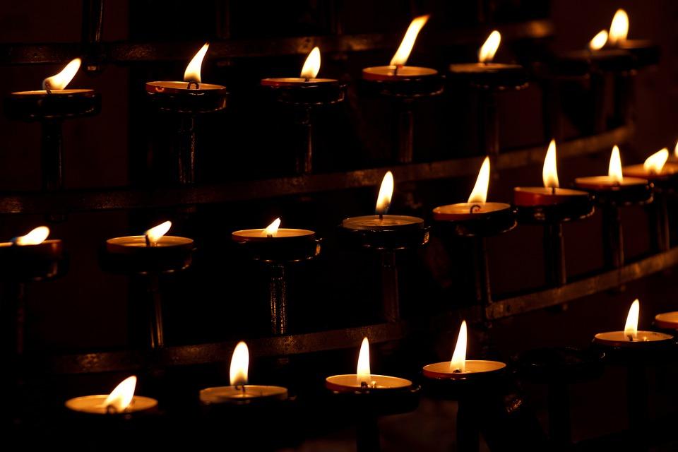 Burn, Burning, Candle, Church, Dark, Faith, Fire, Flame