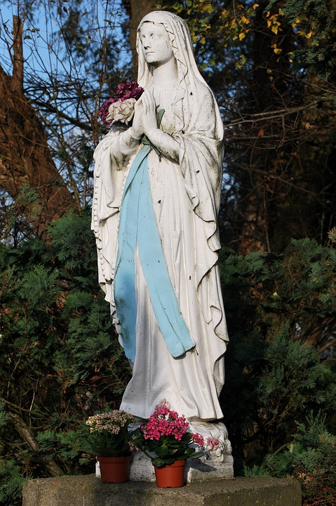 Maria, Statue, Image, Faith, Christianity