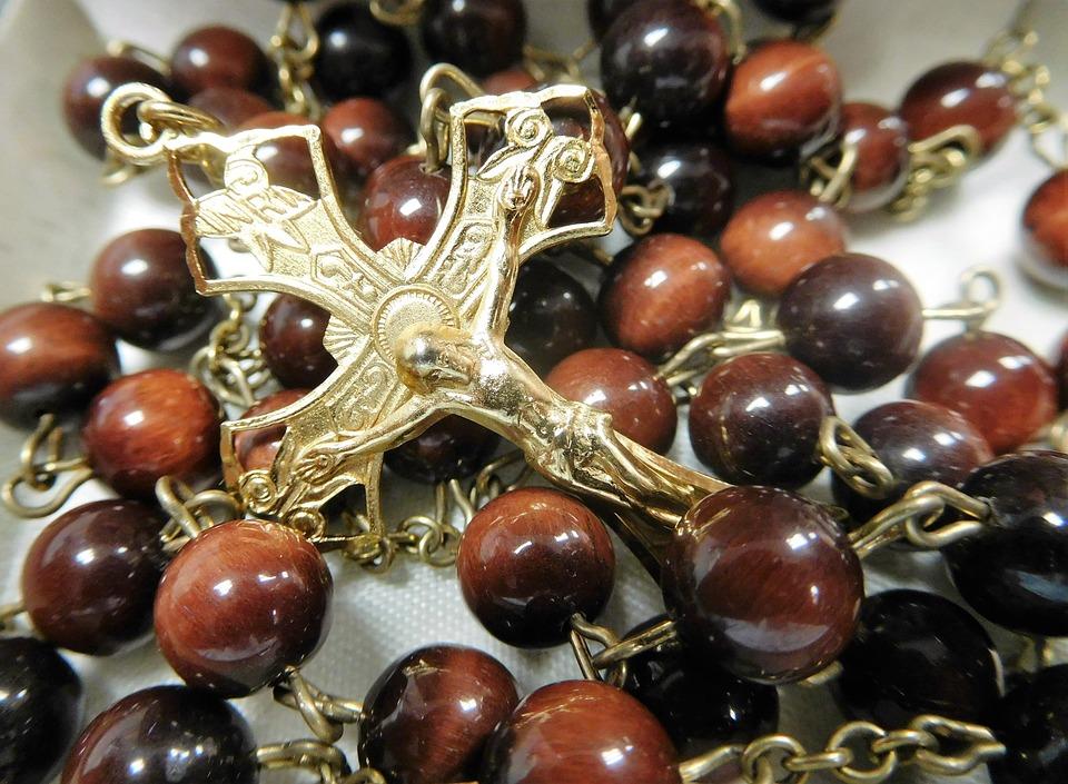 Free Photo Faith Rosary Beads Cross Catholic Rosary Prayer Max Pixel