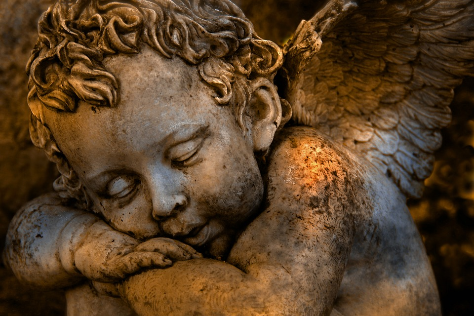 Angel, Religion, Faith, Wing, Guardian Angel, Mourning