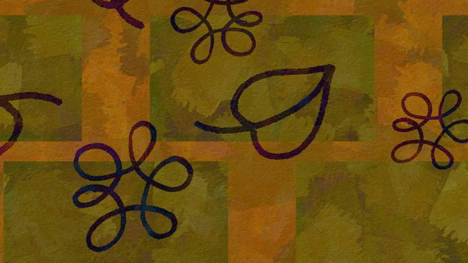 Fall, Doodle, Abstract, Pattern, Background, Decorative
