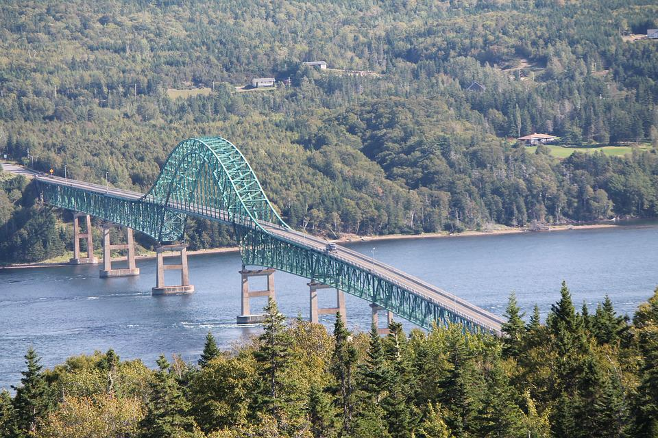 Seal, Island, Bridge, Cape, Breton, Nova, Scotia, Fall