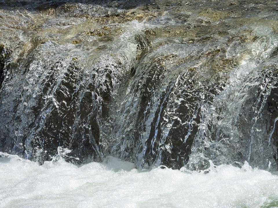 Water, Fall, Cascade, Torrent, Rapids, Current