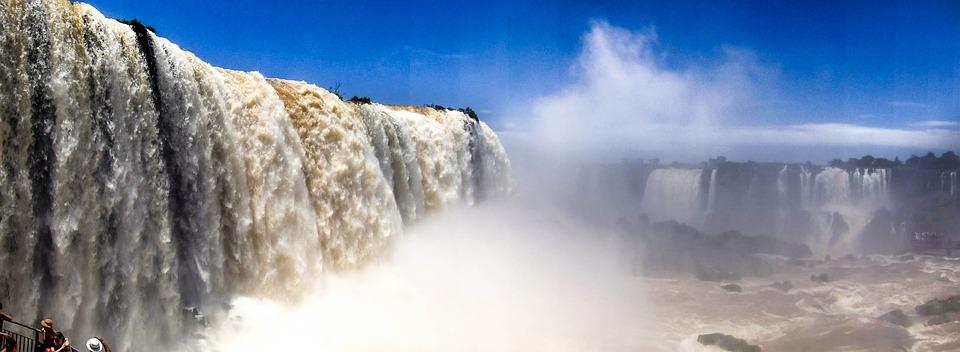 Falls, Iguaçu, Brazil