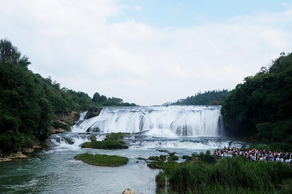 The Beauty Of Guizhou, Guizhou, Falls